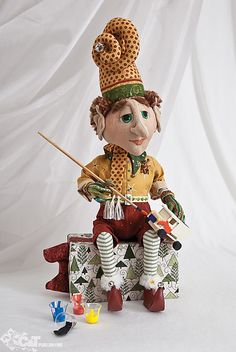 Fanciful Cloth Dolls by Terese Cato for C Publishing!