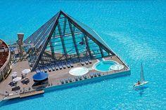 Most beautiful swimming pool - San Alfonso del Mar Resort (Algarrobo, Chile)