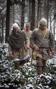 Hunt - Lovecká výprava by Marobud Viking Garb, Viking Reenactment, Viking Men, Viking Dress, Viking Costume, Viking Life, Medieval Life, Viking Warrior, Medieval Costume