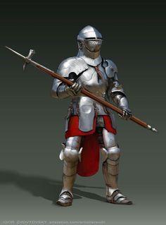 Italian knight, the 15th century.