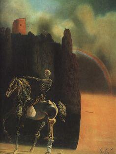 Salvador Dalí. The Horseman of Death. 1935.
