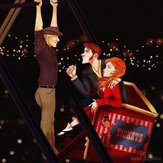 Kristoff Hans y Anna en El Diario de Una Pasión