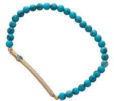 Evil Eye Bar Charm Stretch Bracelet on shopstyle.com