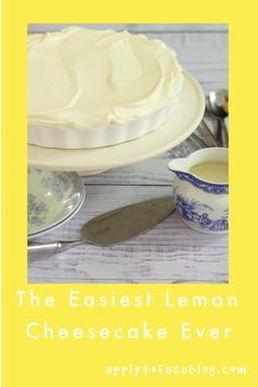 This recipe for No BakeLemon Cheesecakewith condensed milkis just sensational. So crazily easy it is perfect for times of children induced stress where you want something fabulous but feel like mostly sitting in the corner ramming crisps in your mouth. ##nobakelemoncheesecake #lemoncheesecake #makeaheaddesserts #easydesserts No Bake Caramel Cheesecake, Lemon Cheesecake Recipes, Nutella Cheesecake, Lime Cheesecake, Make Ahead Desserts, Easy Desserts, Dessert Recipes, Raspberry Tarts, Lemon Filling
