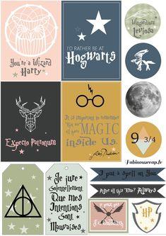 Moments Magiques, sur le thème Harry Potter, pour Embelliscrap