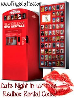 Frugalattes: FREE: Redbox Codes...for a FREE movie rental!!