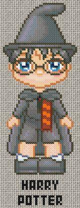 Free Harry Potter cross stitch pattern Harry Potter.gif.thumb