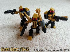 The Armoury • Gold Bot MK2 -- An Alltimate Corporation Product