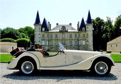 Morgan car - Classic car hire in France   Your French Holidays