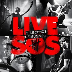 5 Seconds of Summer - LIVE SOS CD Album