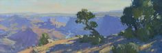 "Bill Cramer ""River View"" 8"" x 24"" Oil"