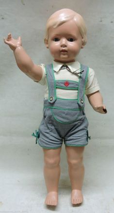 Ähnliches Foto Cute Dolls, Antique Dolls, Overall Shorts, Doll Clothes, Overalls, Retro, Baby, German, Women