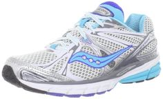 Saucony Women's Guide 6 Running Shoe,White/Silver/Blue,5 N US Saucony,http://www.amazon.com/dp/B0081KKXG2/ref=cm_sw_r_pi_dp_m0i5rb0JR2003BAF  So far, a great running shoe! I like the support!