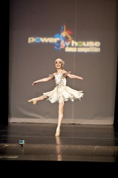 Dance Moms' Maddie performs at a dance competition.