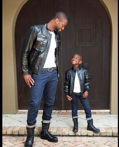 Love this! Father and son!