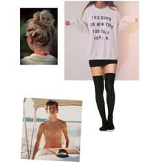 Living with Hayes Grier by fivesaucescondiment on Polyvore featuring polyvore, fashion and style