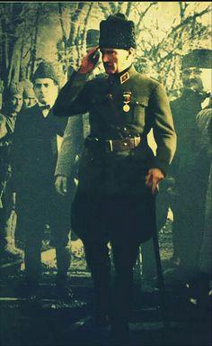 Baş KOMUTAN gazi Mustafa Kemal Atatürk.. Ata'mm benim...