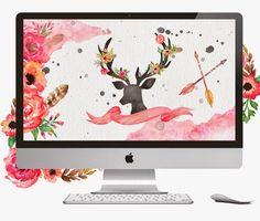 dlolleystutorials: Free Dress Your Tech Desktop Wallpaper
