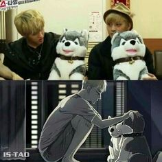 Exo | Tao & Kris... 'Scuse me while I go sob I REALLY DIDN'T NEED THIS TO DESTROY MY DAY I'M A HARDCORE TAO X KRIS SHIPPER