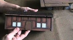 Make 3D cardboard buildings with 2.5D tiles for D&D (The DM's Craft, I Show you my Stuff EP 5)