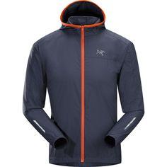 """The Arc'Teryx Endorphin jacket - light weight. super packable."