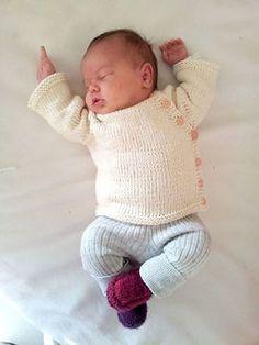 Cardigan bébé 1 taille : nouveau né - tricot - Modèles de tricot chez Makerist