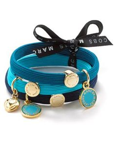 For the girl who has everything... Marc by Marc Jacobs Hair Ties!