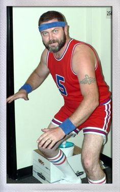 March madness, nick offerman style.