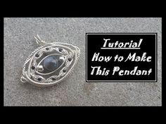 Wire Wrapped Jewelry: Agate Herringbone - YouTube