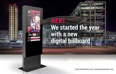 We had to innovate again.  AEKI, the new digital billboard from PARTTEAM & OEMKIOSKS  Ask for more information or a quote at www.oemkiosks.com   or     (  www.quiosques.com   - PORTUGUESE WEBSITE)  #partteam #aeki #kiosk #kiosk #digital #advertising #interactive #touch