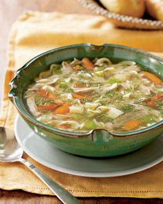 Go classic with this easy recipe for #chicken noodle #soup. #dinner