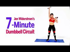 Torch Fat and Build Muscle With Jen Widerstrom's 7-Minute Dumbbell Circuit - YouTube