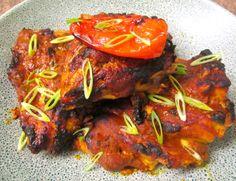 """ Tandoori Inspired Baked Chicken """
