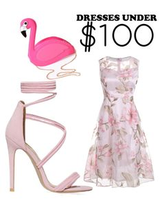 """smart pink under $100"" by kayleetjee04 ❤ liked on Polyvore featuring Lulu Hun"