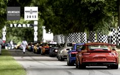 GOODWOOD FESTIVAL OF SPEED – DAY 3 MITCHELIN SUPERCAR RUN Various Millions of pounds worth of machinery lines up ready for the Michelin Supercar Run © TheTelegraph Picture: MAX EAREY #FOS #GoodwoodFOS #Goodwood2015