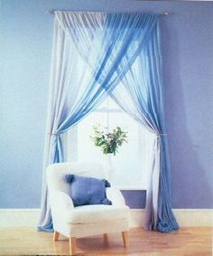 Cortinas Decorativas Ideas Hogar, Home Curtains, Master Bedroom Makeover, Home Organization Hacks, Curtain Designs, Little Girl Rooms, Cool Rooms, Decoration, Bedroom Decor