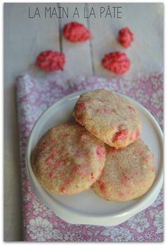 cookies aux pralines roses 2