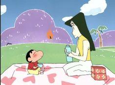 Crayon Shin Chan ~ Shin & Nanako Sinchan Wallpaper, Sinchan Cartoon, Tom And Jerry Cartoon, Design Comics, Crayon Shin Chan, I Love You Baby, Cute Cartoon Wallpapers, Doraemon, Doodle Art
