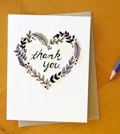 Graphic Design - Graphic Design Ideas  - Heart Thank You Cards, Set of 4 by Ready Maker Design on Scoutmob Shoppe   Graphic Design Ideas :     – Picture :     – Description  Heart Thank You Cards, Set of 4 by Ready Maker Design on Scoutmob Shoppe  -Read More –