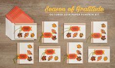 October 2016 Paper Pumpkin Kit Ideas Part 2 of 2