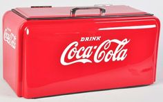 1940's Coca-Cola Countertop Cooler