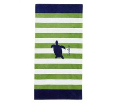 perfect @potterybarnkids towels for Tommy's pool party!