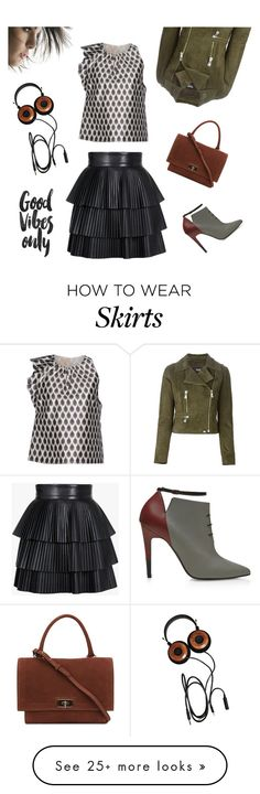 """""""Good Vibes Only!!!"""" by theoni2009 on Polyvore featuring мода, Pierre Hardy, Giambattista Valli, Givenchy, Balmain и Versus"""