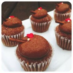 Mini-Cupcake de Churros - Receitas de Cupcake - I COULD KILL FOR DESSERT