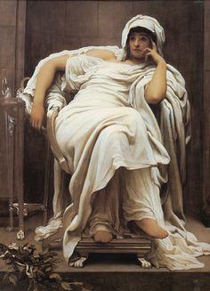 Lord Frederick Leighton (1830-1896)  Faticida  Oil on canvas  c1894