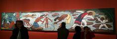 Diego Rivera 1953_55_ la Rivière Juchitan_ fresque de plus de 20 m²