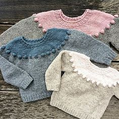 Ravelry: Pearls-on-a-string Sweater pattern by Pernille Larsen