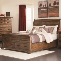 Legends Furniture City Lights Low Profile Bed - LEG586 | Products ...
