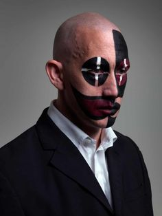 Face off: extreme clown portraits – in pictures | Art and design | The Guardian Arte Peculiar, Face Off, The Guardian, Superhero, Artist, Photography, Fictional Characters, Jokers, Portraits