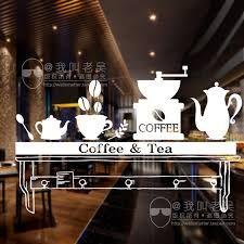 Imagini pentru Coffee Shop Cafe Window Sign Stickers Restaurant Graphic Decal